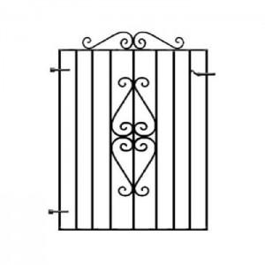 Ascot Single Entrance Gate 2