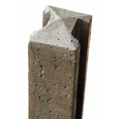 Concrete-H-Slotted-Post