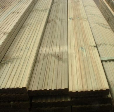 Timber decking boards morgan supplies gloucester for Softwood decking boards