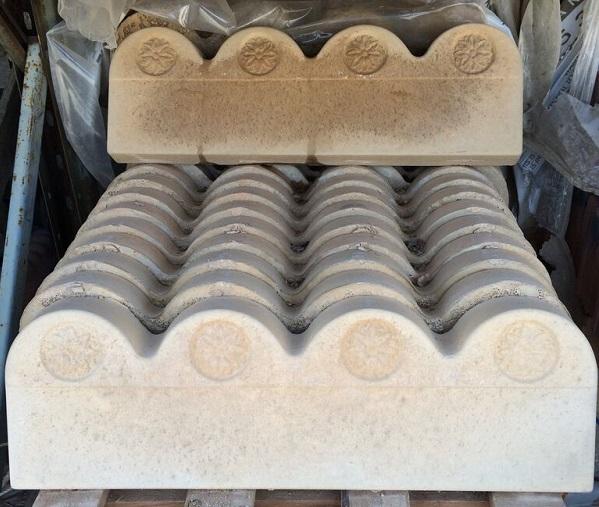 Decorative Scallopped Edgings
