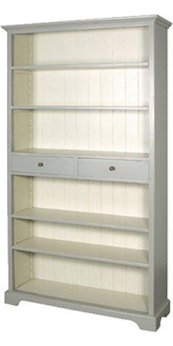 Grey Fayence Bookcase