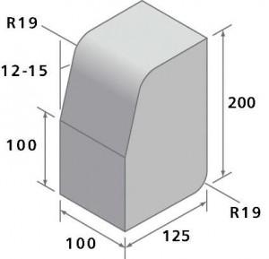 Large kerb block