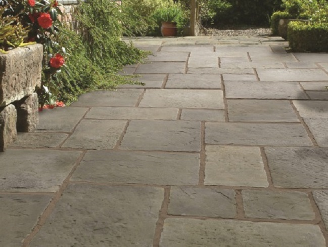 Minster Flagstone - Old Minster Layed