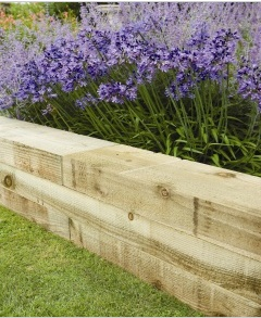 New-Railway-Sleepers-Border