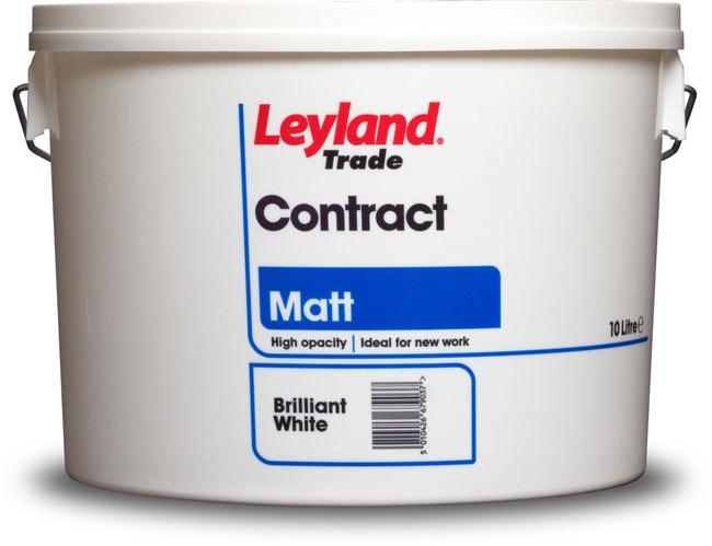 Leyland Trade Contract Matt Emulsion Paint 10Ltr | Morgan