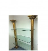 Tall golden columns display unit thumb