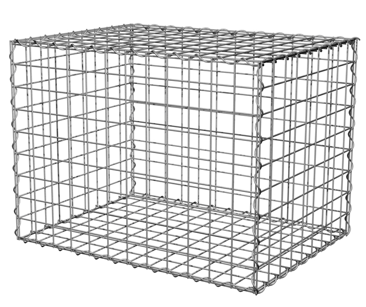 Galvanised Landscaping Cube Gabion Basket Morgan