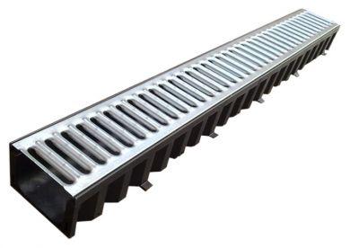1m aco drain channel grating morgan supplies gloucester. Black Bedroom Furniture Sets. Home Design Ideas