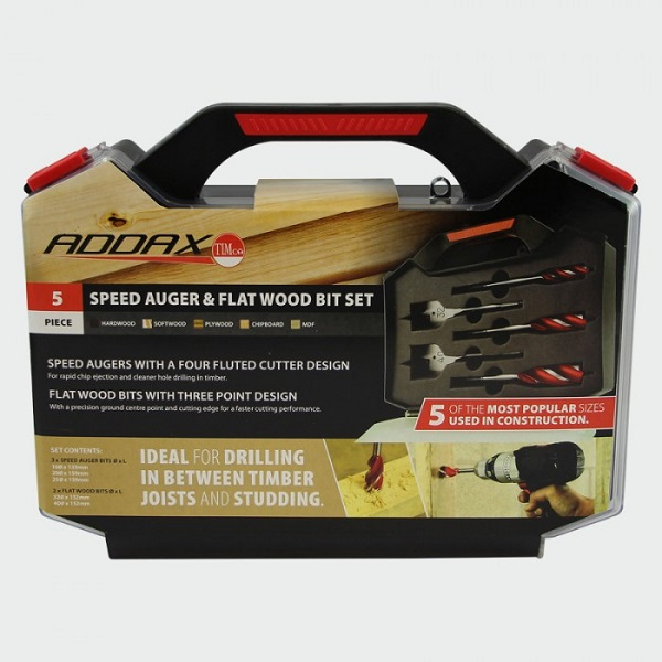 Timco Addax Carpenters Kit – 5 Piece | Morgan Supplies