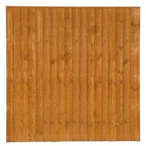Featheredge fence panel 6x6