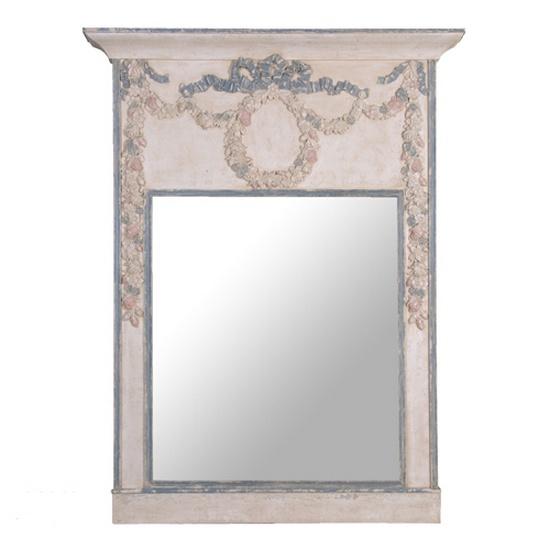 fuz107_l Ex.Lg.Swags & Bows Mirror
