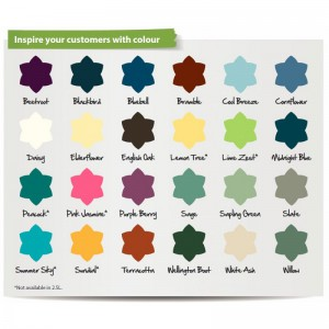 ronseal garden paint list