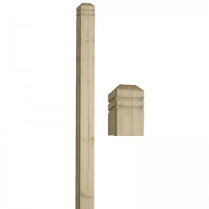 square-newel Post